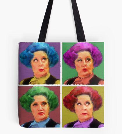 Pussy Pop Art Tote Bag