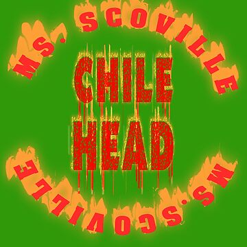 Chillie Wettesser winner. Chile Head. Miss Scoville. by Live-Counter