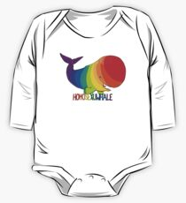 Homosexuwhale - with text One Piece - Long Sleeve