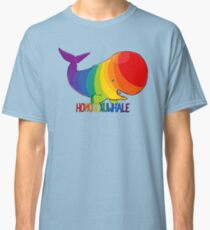 Homosexuwhale - with text Classic T-Shirt
