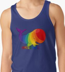Homosexuwhale - with text Men's Tank Top