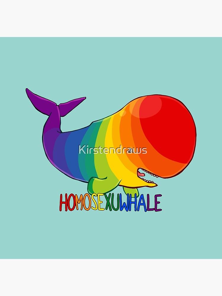 Homosexuwhale - mit Text von Kirstendraws