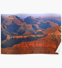 Grand Canyon At Sunset Poster