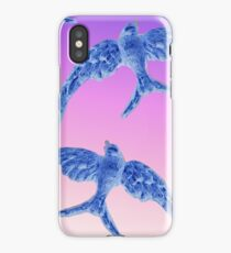 Blue Birds iPhone Case/Skin