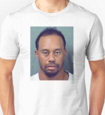 Tiger-Woods-Mugshot T-shirt Unisex T-Shirt