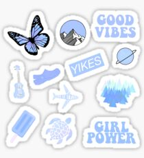 Pastel Blue Pack Sticker