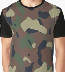 Camouflage Pattern 190470 Grafik T-Shirt