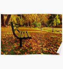 """Forever Autumn"" Poster"