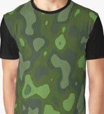 Camouflage Pattern 190472 Grafik T-Shirt