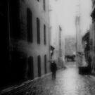 Drizzle in Hosier Lane by Andrew  Makowiecki