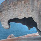 Remarkable Rocks , Kangaroo Island, South Australia  by Adrian Paul