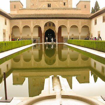 Alhambra, Granada, Spain by AlisonHowson