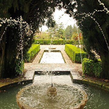 Alhambra Gardens by AlisonHowson