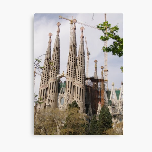 Sagrada Familia - Barcelona Canvas Print