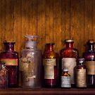 Pharmacy - Liniment, Lozenges, & Antiseptic by Michael Savad