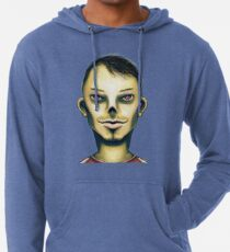 Zombie Boy Smiling Lightweight Hoodie