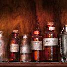 Pharmacy - Pharmacist's Fancy Fluids by Michael Savad