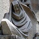 Sagrada Familia - Barcelona - detail by Alison Howson