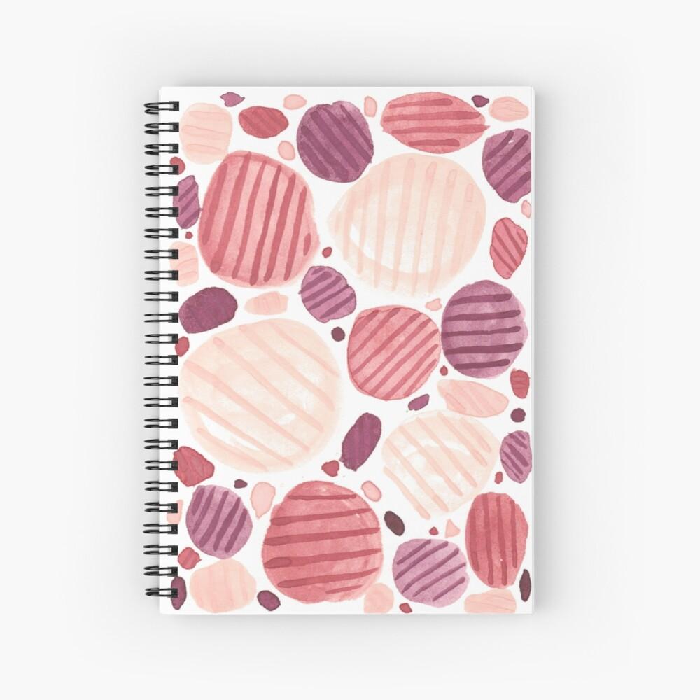 Pebbly Spiral Notebook