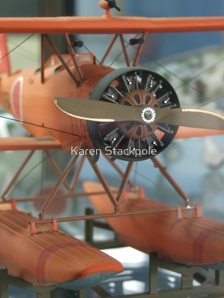 Orange Wings (AIRPORT) by Karen Stackpole
