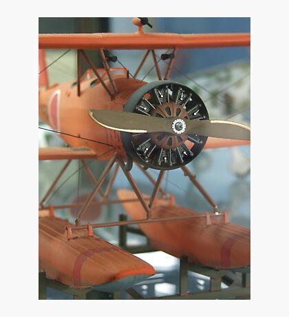 Orange Wings (AIRPORT) Photographic Print