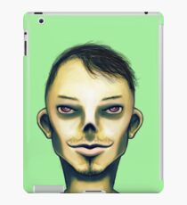 Zombie Boy Smiling iPad Case/Skin