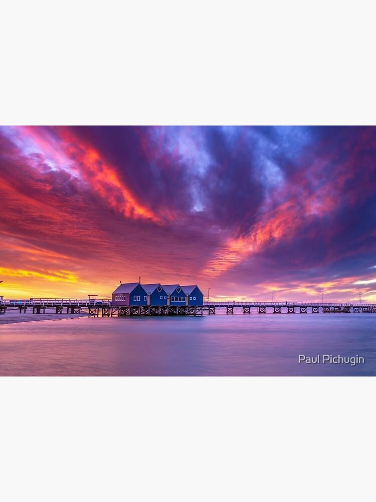 Busselton Sunset Colour Burst by paulmp