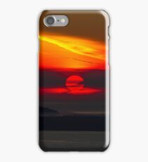Sunset Over the Pacific Coast iPhone Case/Skin