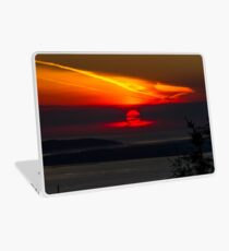 Sunset Over the Pacific Coast Laptop Skin