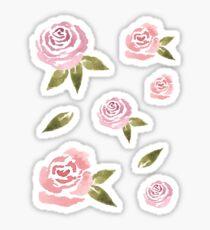 Pegatina Juego de pegatinas Little Pink Roses ~