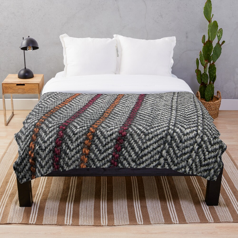 Northern Twill 2 Throw Blanket