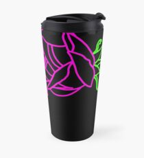Roses neon Travel Mug