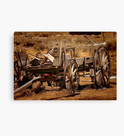 Old Wagon Canvas Print