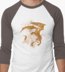 Dragonfight-cooltexture Men's Baseball ¾ T-Shirt
