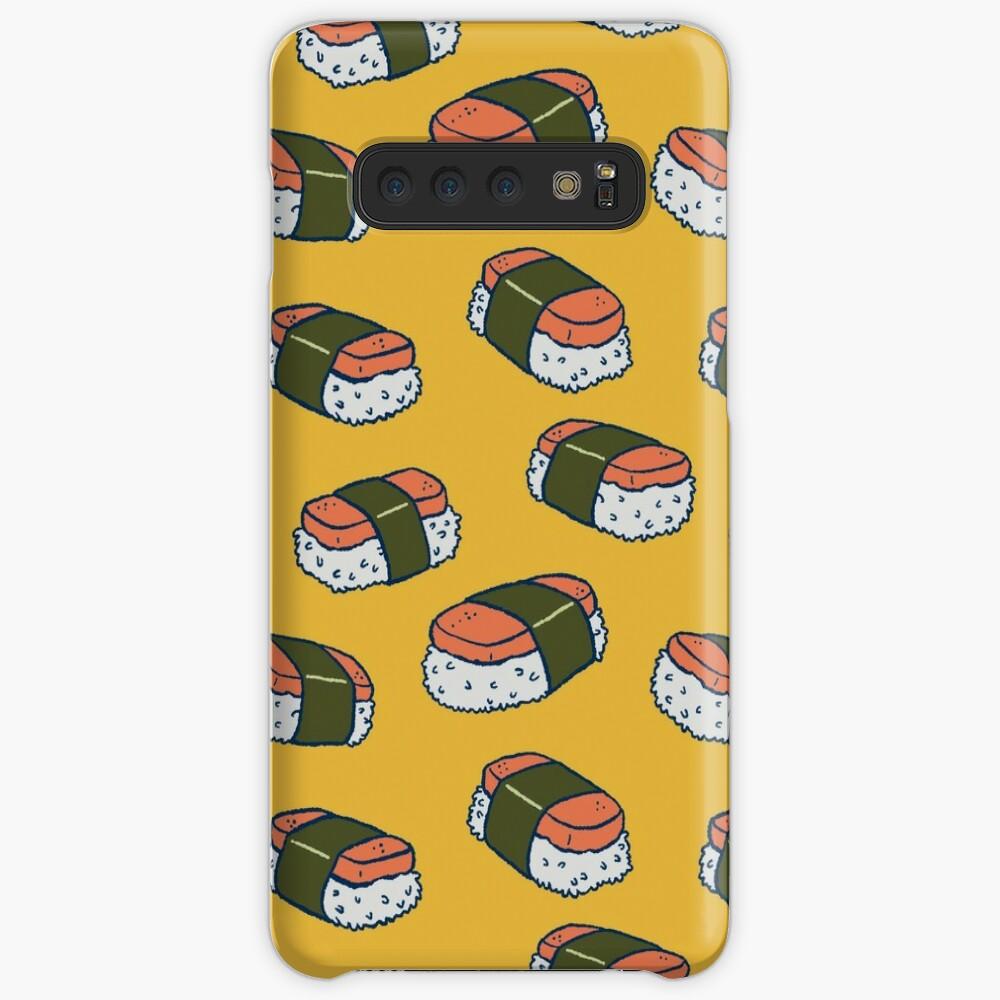 Spam Musubi Sushi Pattern Case & Skin for Samsung Galaxy