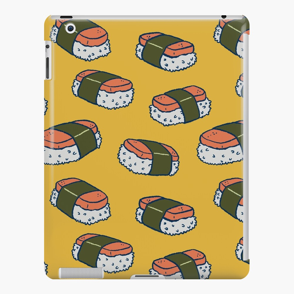 Spam Musubi Sushi Pattern iPad Case & Skin