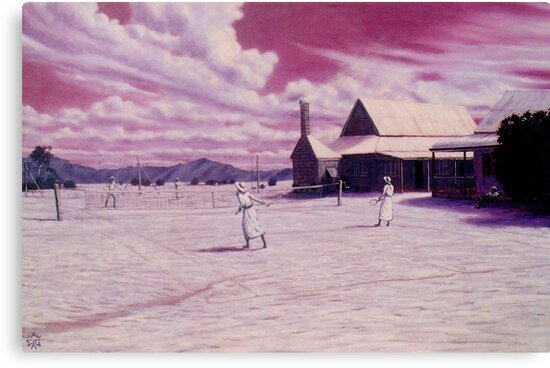 Outback Tennis by Cary McAulay