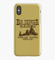 Big Thunder Mining Co iPhone Case