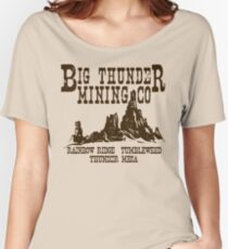 Big Thunder Mining Co Women's Relaxed Fit T-Shirt