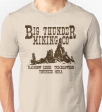 Camiseta unisex Big Thunder Mining Co