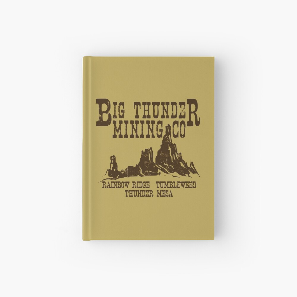 Big Thunder Mining Co Notizbuch