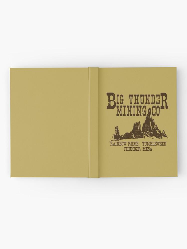 Alternative Ansicht von Big Thunder Mining Co Notizbuch