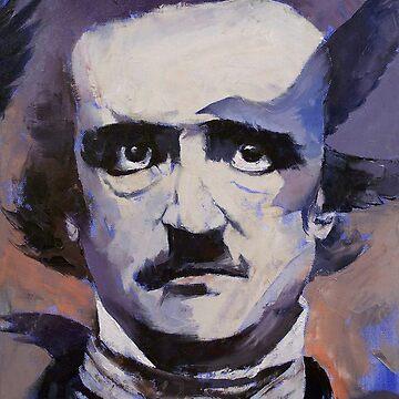 Edgar Allan Poe by michaelcreese