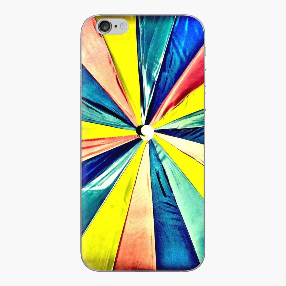 Under My Umbrella - Bright Art Photography iPhone Skin