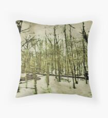 Into the Woods Part Deux Throw Pillow