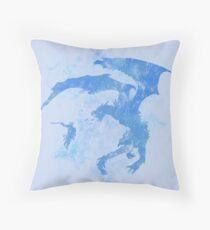 Dragonfight-cooltexture Inverted Throw Pillow
