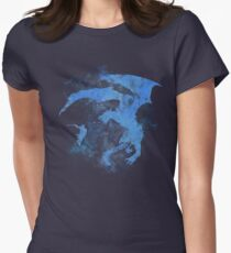 Dragonfight-cooltexture Inverted Women's Fitted T-Shirt