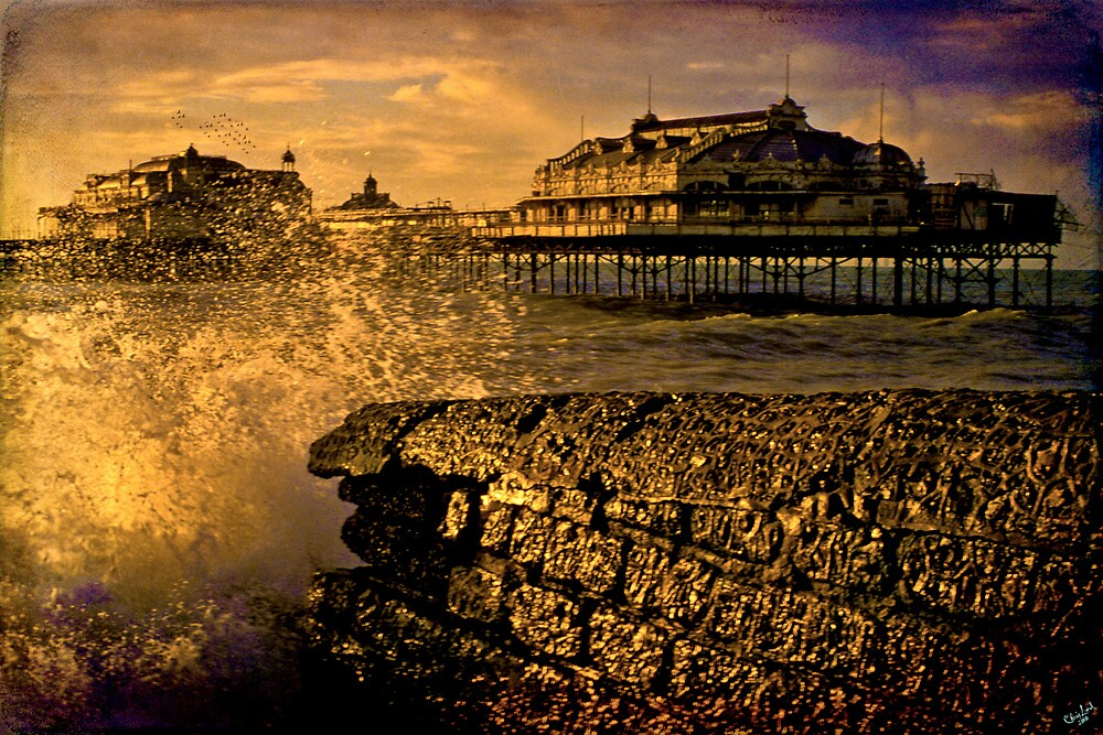 Gone But Not Forgotten, West Pier Brighton by Chris Lord