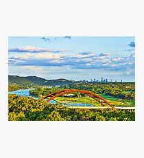 Pennybacker Bridge Photographic Print