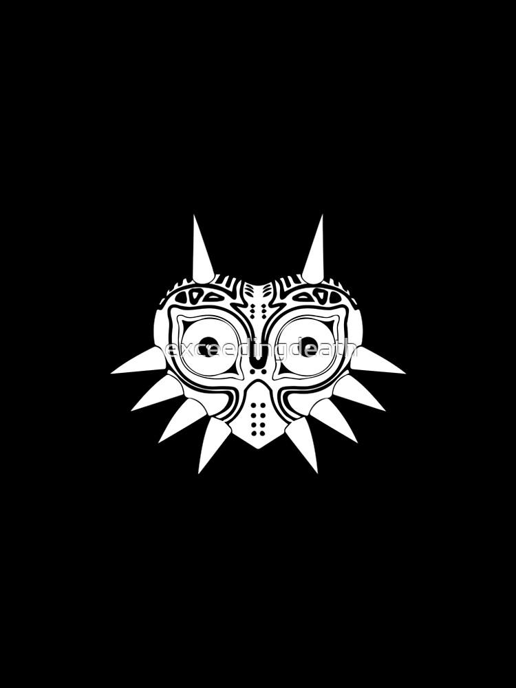 Máscara de Majora de exceedingdeath